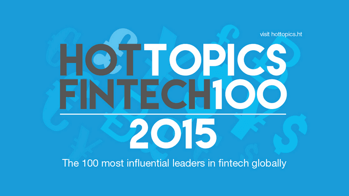 100 most influential leaders in fintech globally