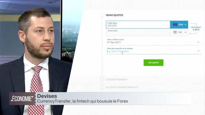 CurrencyTransfer.com i24news interview with Nfrench