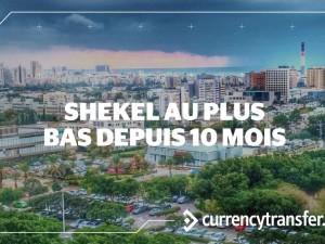 L'Euro à son plus haut niveau face au Shekel depuis plus de 10 mois