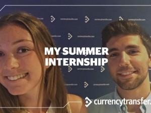 My Summer Internship At CurrencyTransfer.com
