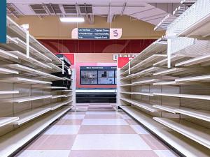 14September2021: Supermarket shelves empty again